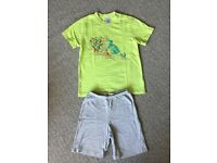 Summer T shirt and Short Pyjama Set