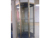 Jewellers 50PENCE Glass Display Cabinet