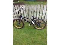 Voodoo bmx gold and black £100 20inch