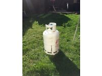 Gas cylinder for sale with some gas left 13kgs capacity suitable for BBQ selling to get rid off