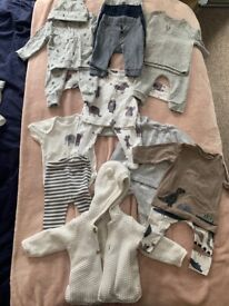 Up to 3 months and 3-6 months baby clothes