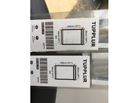 Ikea brand new Grey Tupplur black out blinds