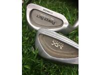 2 x sets of left-handed golf clubs. Macgregor & Ben Sayers. Calloway wood & Yasuda