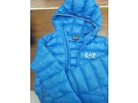 Boys blye EA7 jacket