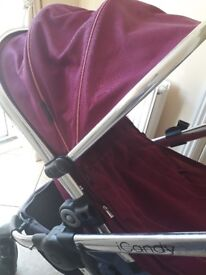 iCandy peach 3 full travel system + extra