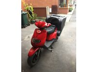 Tbg 125 delivery scooter moped