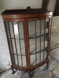 Antique cabinet restored