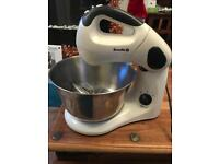 USED A FEW TIMES ( Breville Pick & Mix Collection VFP059 Mixer - 380W - 3.2 litre - Vanilla Cream