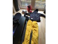 Snowboard full kit