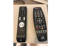 Two One For All Remote Controls