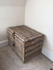 IKEA BYHOLMA wicker chest / storage box (make an offer)