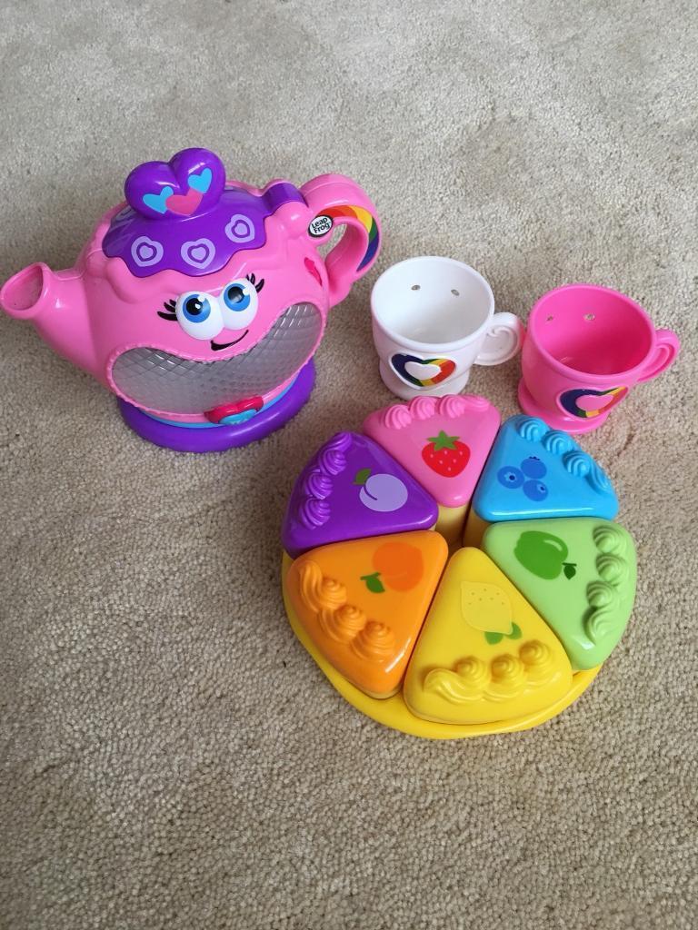 LeapFrog Musical Rainbow Tea Party Set