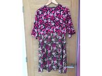 Maternity summer flower dress ASOS size14