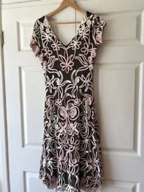 Ladies Phase Eight size 14 cocktail dress with matching bolero
