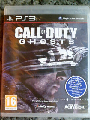 CALL OF DUTY GHOSTS PS3 Nuevo precintado Acción shooter táctico en castellano.,