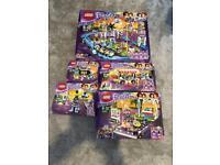 Lego and friends 41130amusement park bundle set