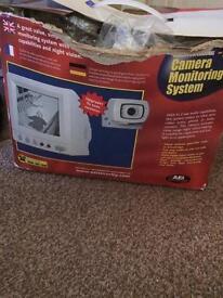CCTV with intercom