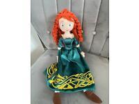 Original Disney store Merida (Brave) plush doll 55cm