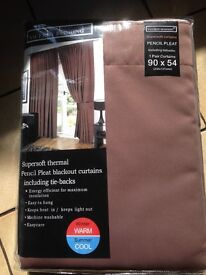 Brand new thermal blackout curtains