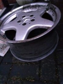 "Single amg alloy 16"" good condition"