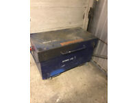 large Site box with keys and wheels