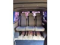 Van t4 t5 transporter Vw bongo minibus rear seats seat