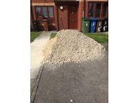 2-3 ton of white building stone **FREE**
