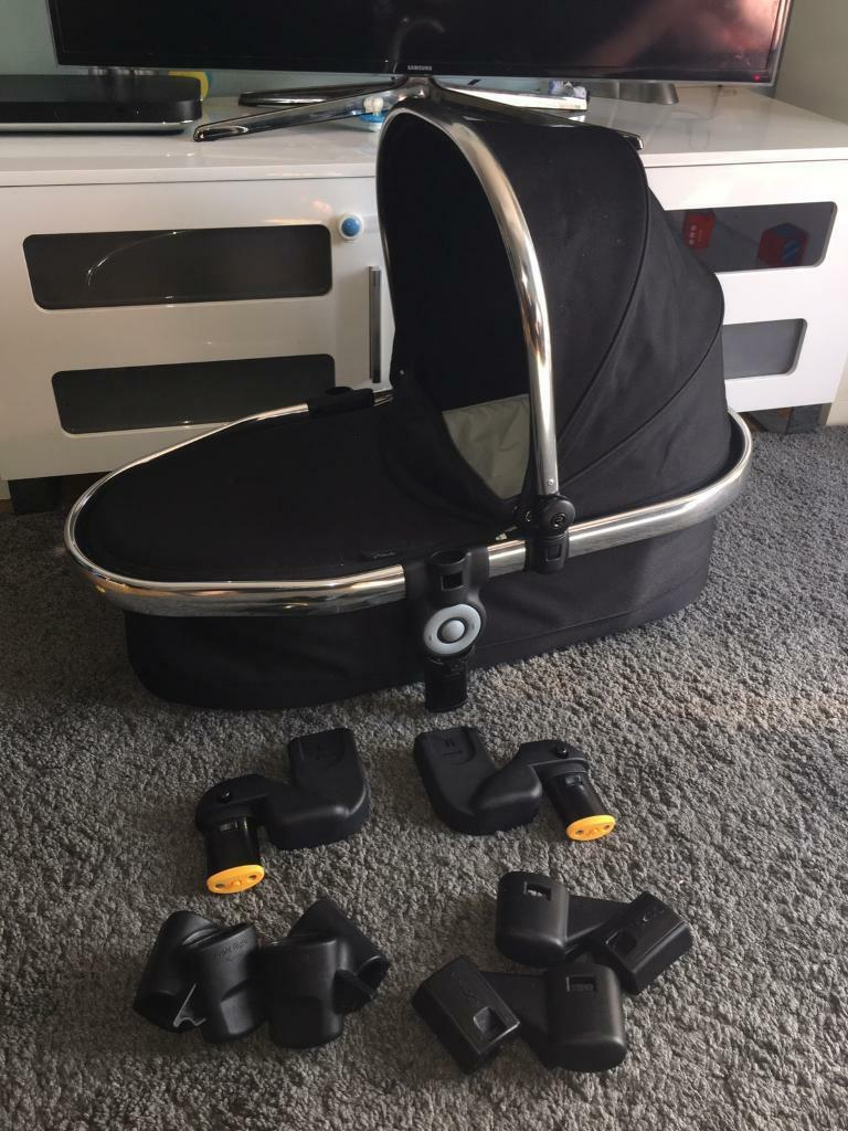 Icandy peach 2 lower carry cot double adapter car seat adapters | in