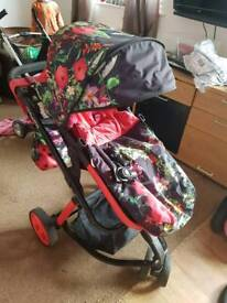 Cosatto woop tropical Pushchair with extras!