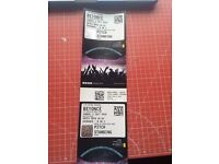 2 X BEYONCE STANDING TICKETS SUNDAY 3RD JULY @ £85 EACH