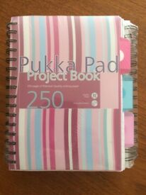 Pukka Pads A5 3 Pads Per Pack - unopened. Wrapped. 5 plastic document wallets. Ideal for student