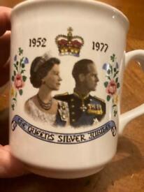 1977 silver jubilee mug