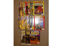 Games Workshop White Dwarf and Rulebooks for Warhammer