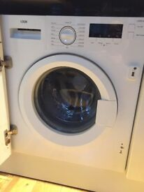 Logik integrated washing machine for sale. Relatively new. Weekend pick up only.