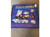 Trans 300 Inline Skates UK Size 1