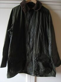 used Barbour wax jacket Beaufort size 44