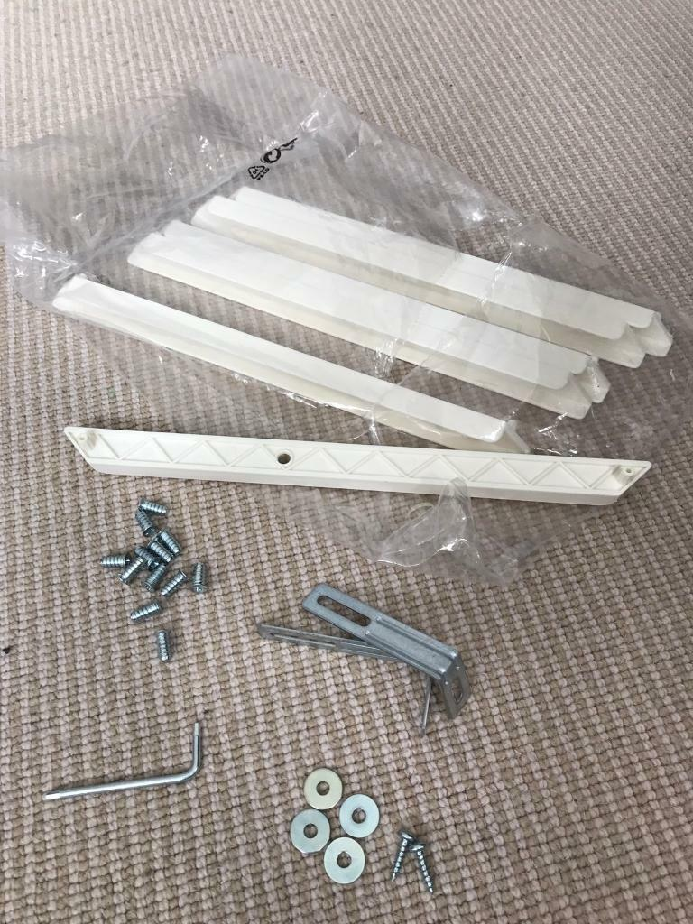 Ikea Trofast 6x Drawer Runners And Screws Allen Keys Etc