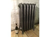 Cast iron radiator: Ornate, Decorated Victorian-style - nearly new