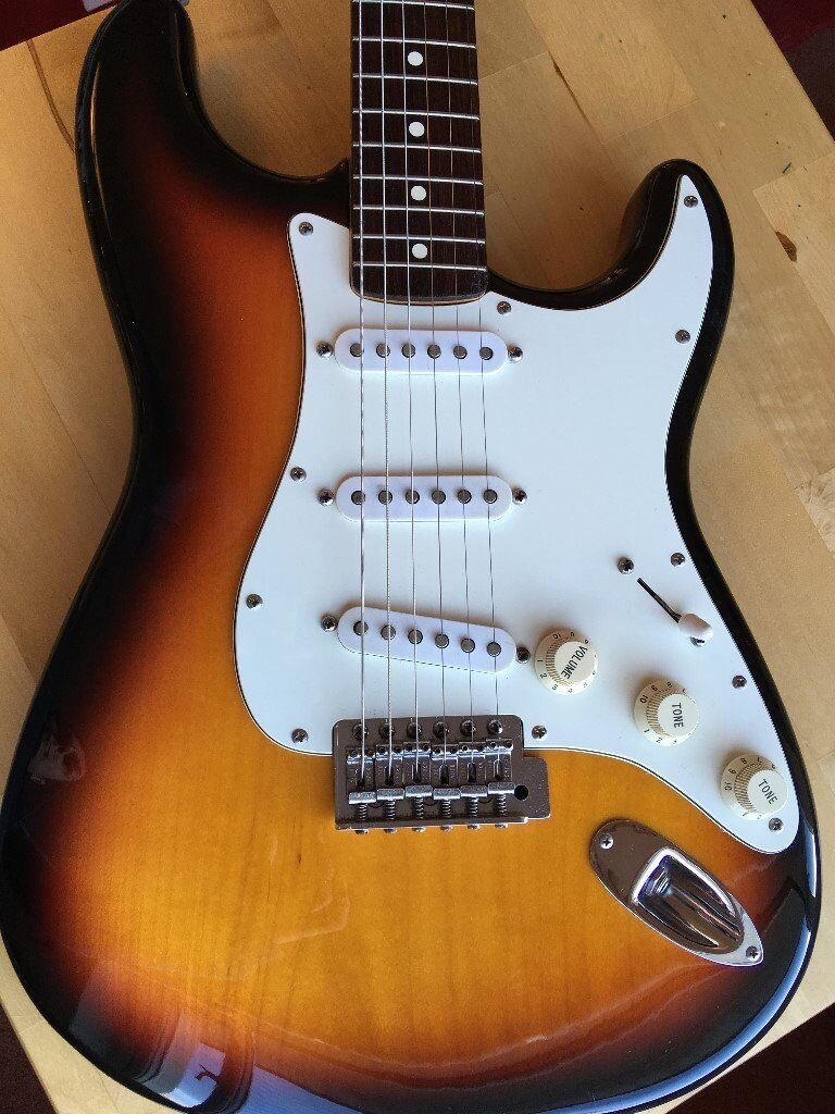 fender stratocaster mexican mim 1995 sunburst in oban argyll and bute gumtree. Black Bedroom Furniture Sets. Home Design Ideas