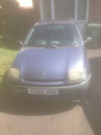 Renault Clio Grande 2000 1.2 Car not currently running. Suspected timing belt issue but not sure.