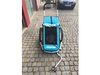CROOZER KID FOR 1 child trailer for bike, strolling and jogging. Excellent condition.