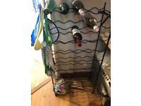 Wine rack for 50 bottles