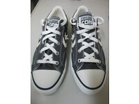 New grey and cream ladies/girls Converse All Star Pumps