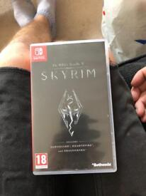 Skyrim. Nintendo switch.