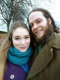 Geek couple looking for flatshare asap