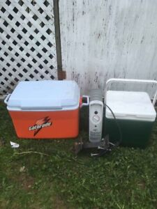 Coolers, Heater and Blocks