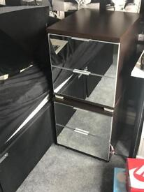 Bed side drawers x2