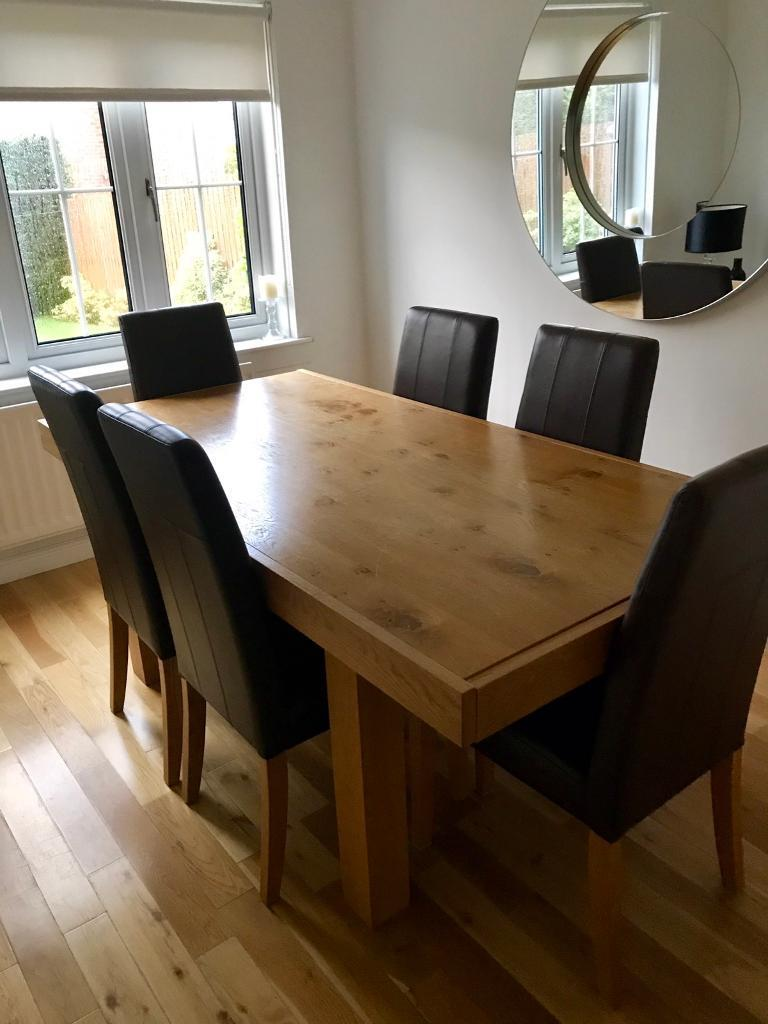 john lewis dining table  chairs  in uddingston glasgow