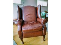 Leather recliner (Denbigh )