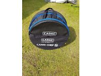 Cadac Carrie Chefff 2 Barbecue with 2 plates only been used twice